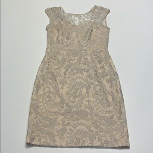 Kay Unger Formal Lace Dress